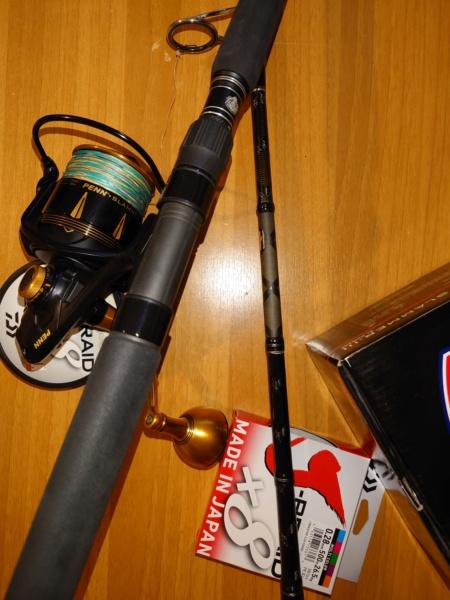 [vendo][usato] combo spinning al tonno, Abu Garcia tuna special + Penn Slammer III 6500 Dsc_0713