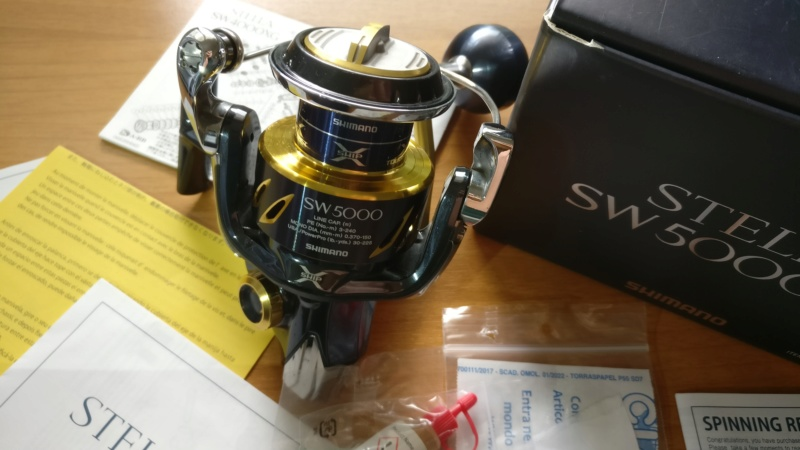 [vendo][usato] SHIMANO STELLA SW-B 5000XG Img_2060