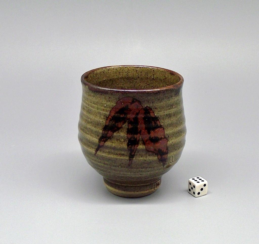 "Stoneware Yunomi with Impressed ""W"" Mark Dscf2010"