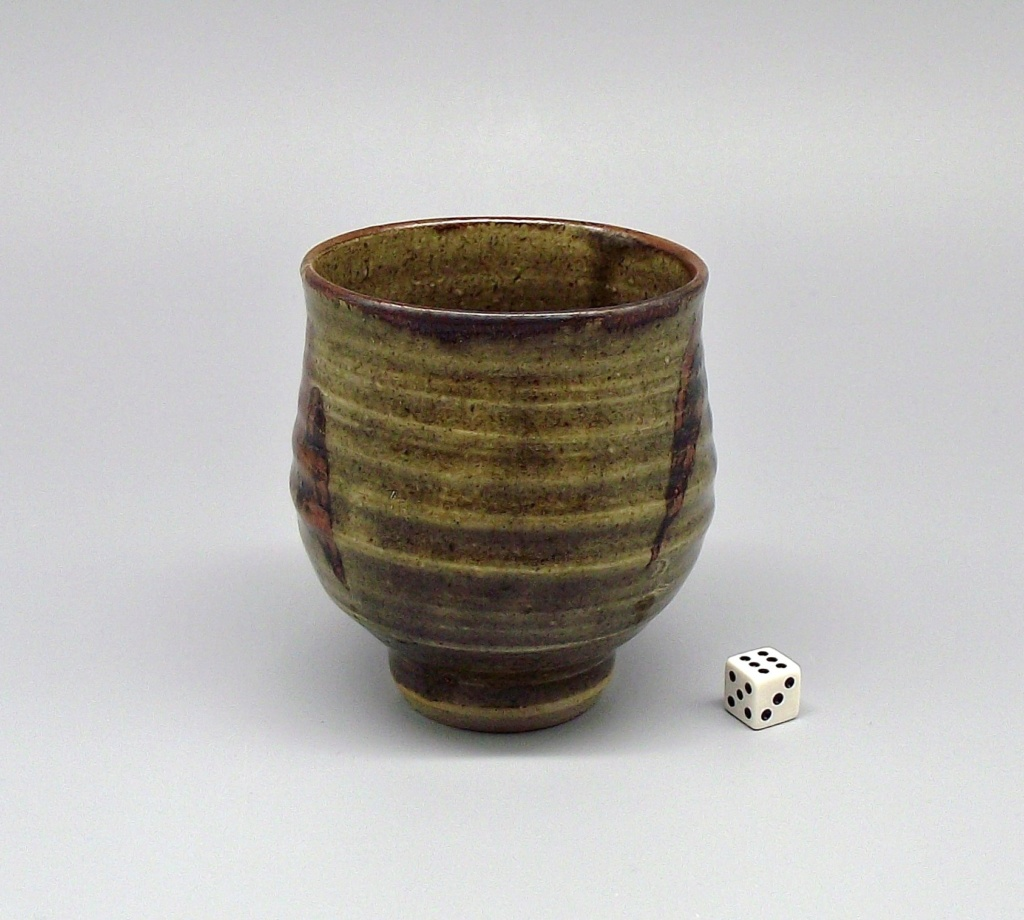 "Stoneware Yunomi with Impressed ""W"" Mark Dscf2011"