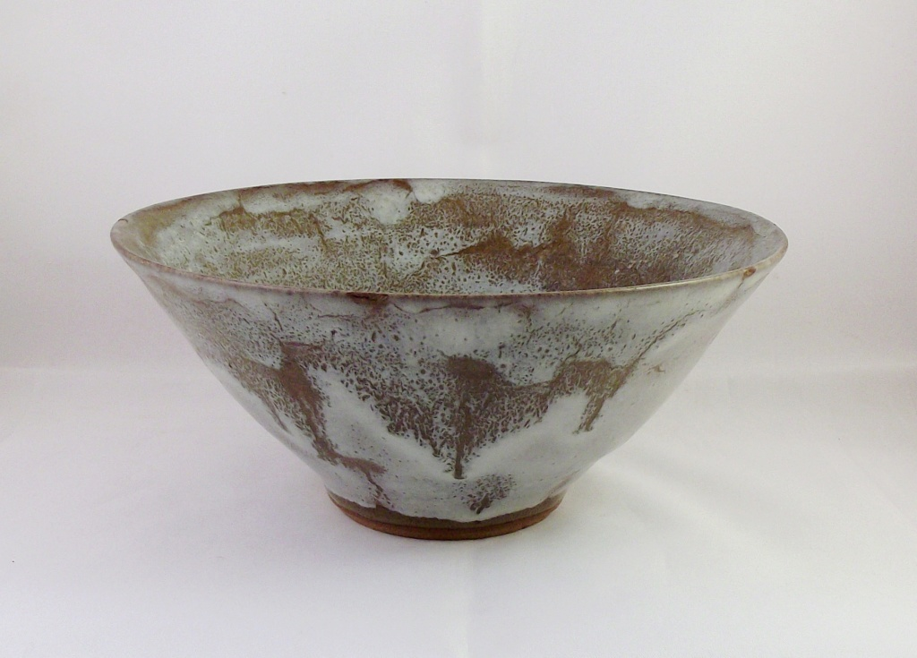 Nice Bowl, Unusual Incised Mark Along With Written Letters & Numbers Dscf2410