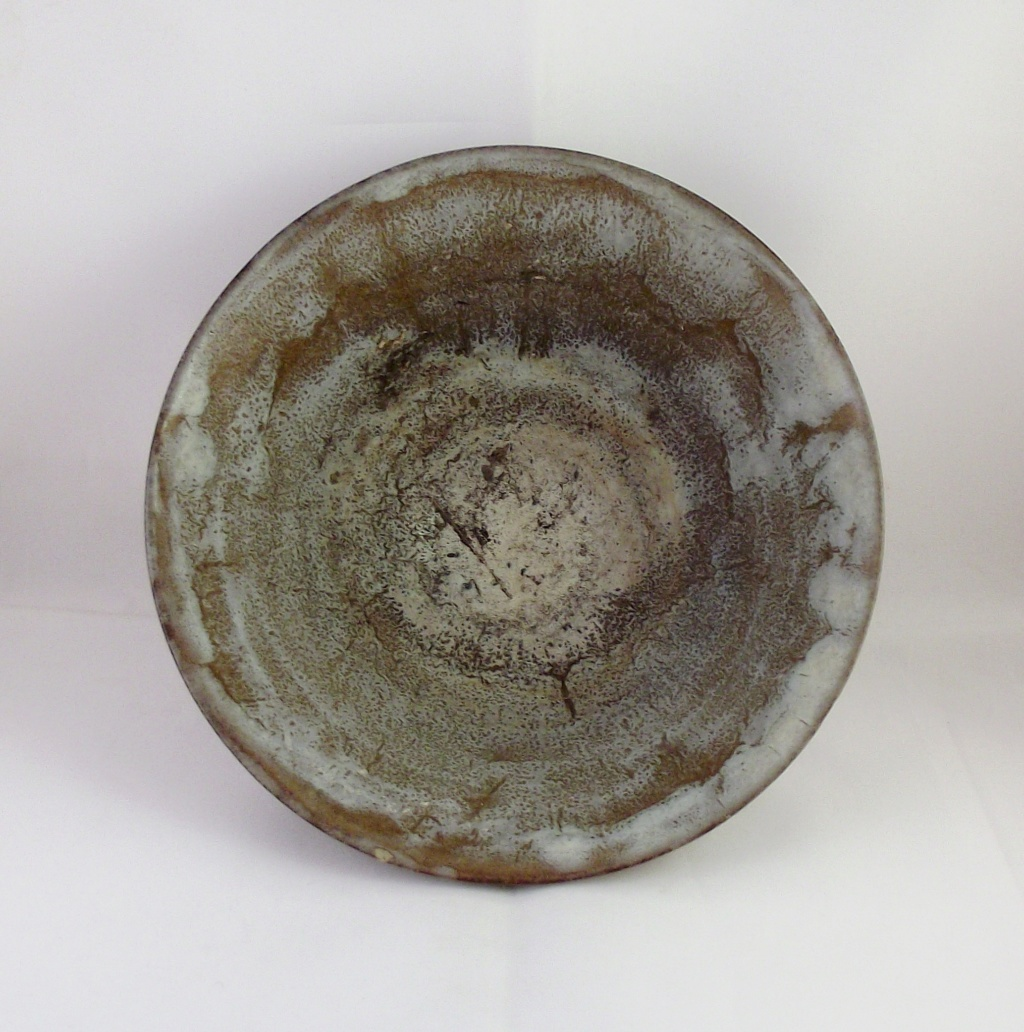 Nice Bowl, Unusual Incised Mark Along With Written Letters & Numbers Dscf2412