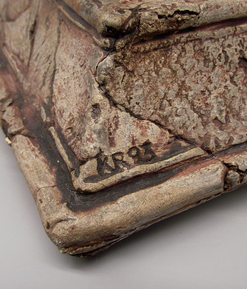 """Sacred Cow or Bull Sculpture """"KR"""" Mark Dscf2420"""