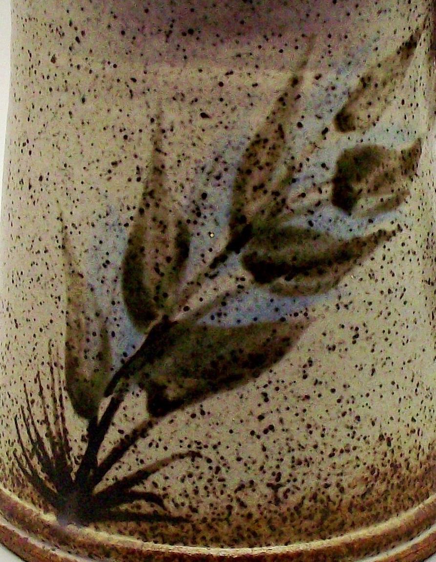 Stoneware Mug/Tankard With Flower Mark Similar To Vivika & Otto Heino Studio14
