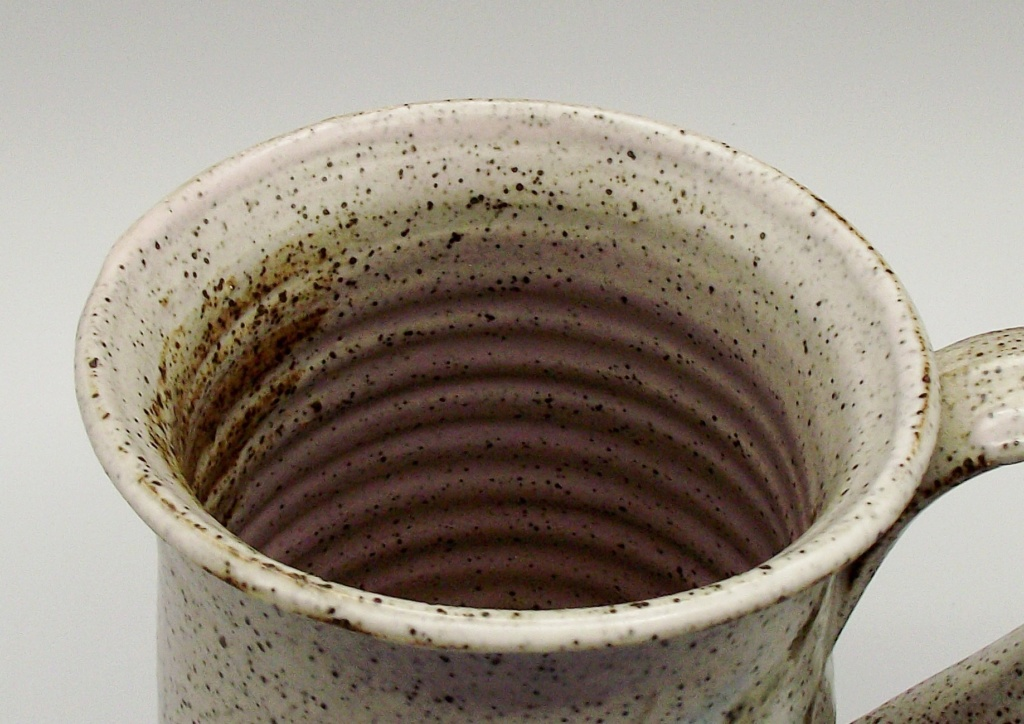 Stoneware Mug/Tankard With Flower Mark Similar To Vivika & Otto Heino Studio15
