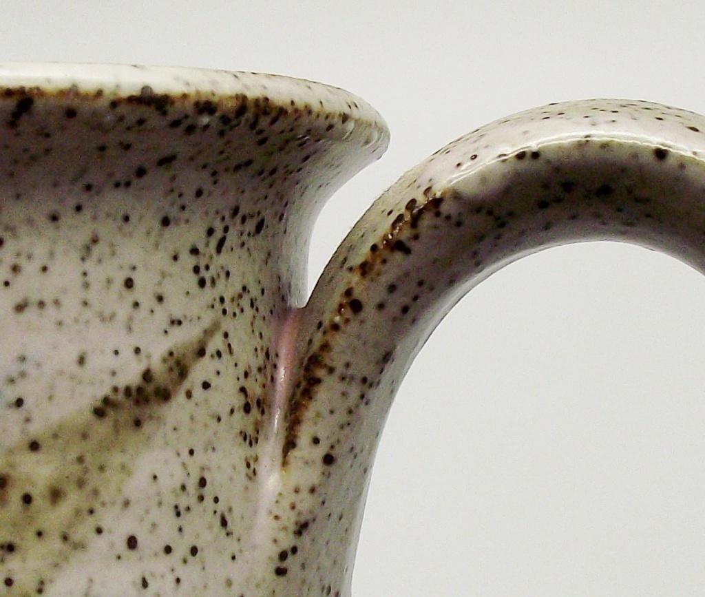 Stoneware Mug/Tankard With Flower Mark Similar To Vivika & Otto Heino Studio16