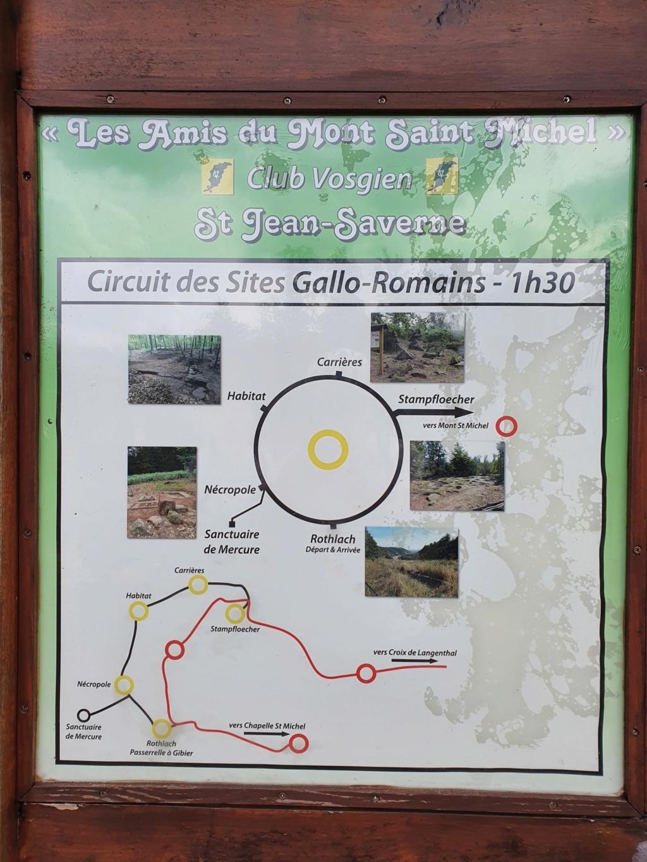 Alsace, banane à VTT à Saverne le 11 septembre 2020 : des Gogos en visite sur des sites Gallo Romains et + encore.... 15993810