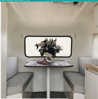 Le «makeover» de cette mini-roulotte vintage vous donnera envie de vivre d'amour et d'eau fraîche Captur30