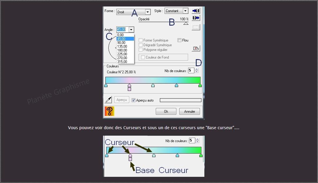 """Maîtriser le module externe dégradé """"Photofiltre Studio"""" 232"""