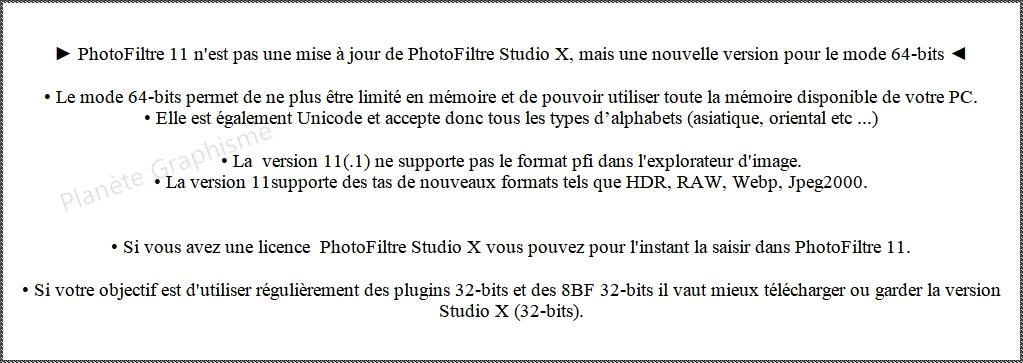 Version PhotoFiltre 11 ou Version PhotoFiltre Studio 10.4.1.  Que choisir ? Sans_164