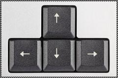 Aide Photofiltre : Flêches directionnelles et raccourcis claviers Touche11