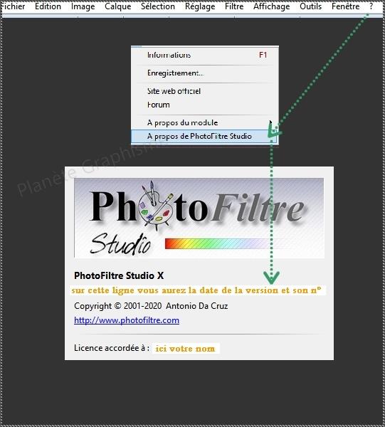 Télécharger Photofiltre Studio Versio15