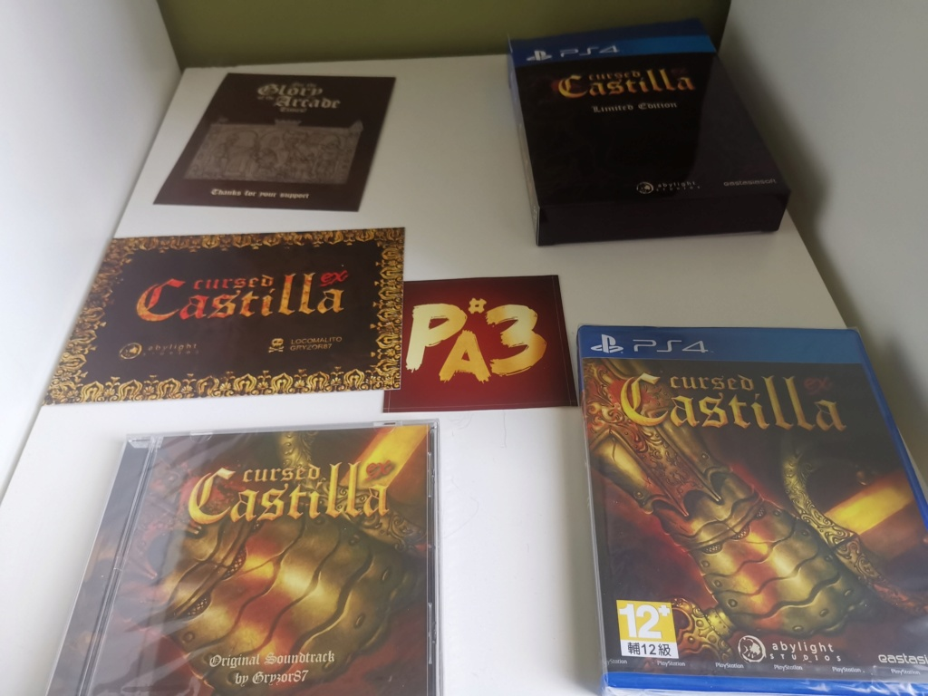 [VDS] FF X collector PS3 et cursed castilla collecor PS4 Img_2039