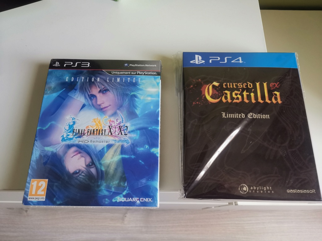 [VDS] FF X collector PS3 et cursed castilla collecor PS4 Img_2040