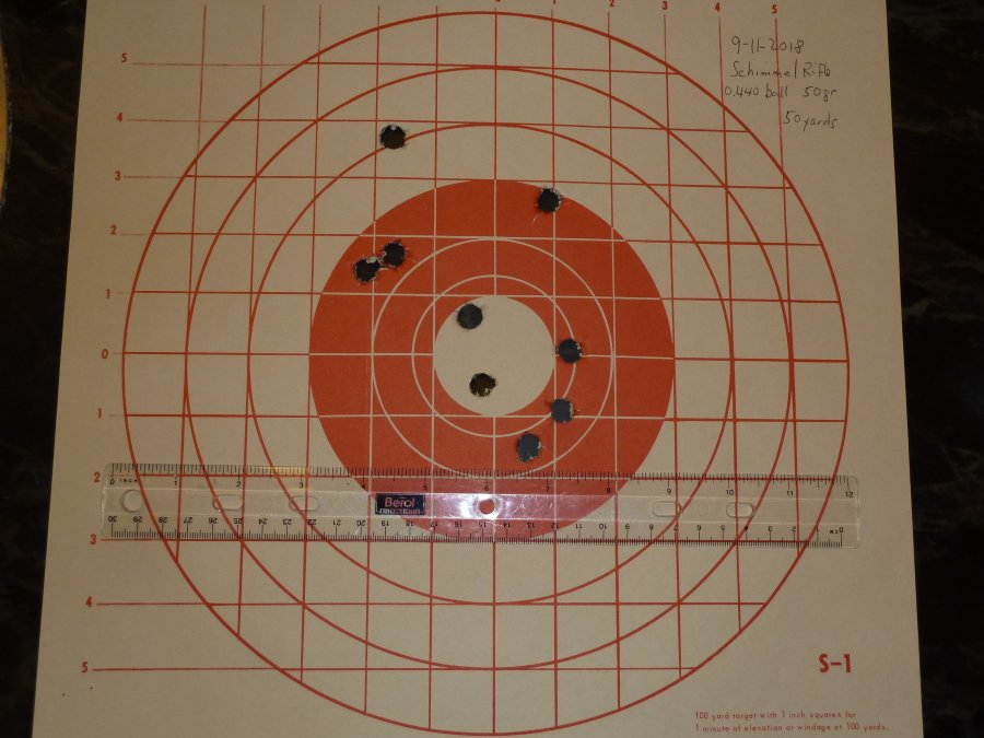 First Shooting of my Schimmel, Poor Boy Rifle 9-11-110