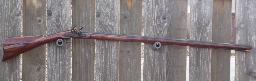 First Shooting of my Schimmel, Poor Boy Rifle Schimm11