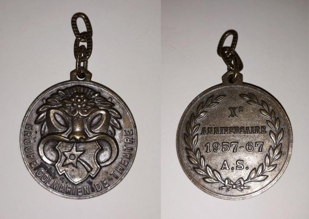 médaille théâtre  20190412