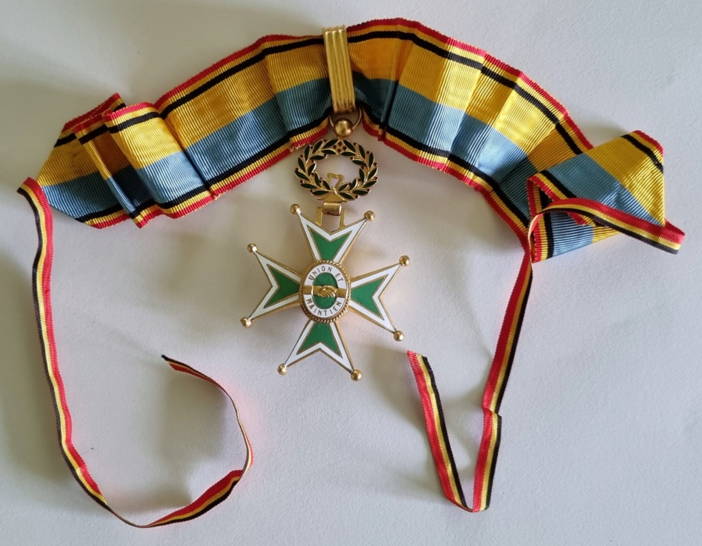Médaille commandeur UNION ET MAINTIEN ? 20210211
