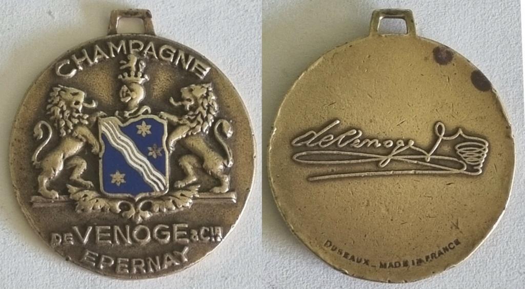 """Besoin d'aide pour identification """" médaille de venoge """"   20210321"""