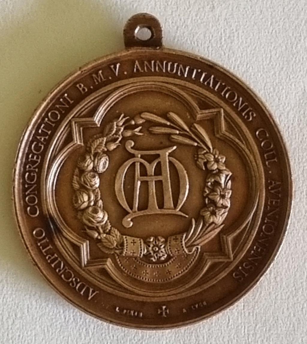 Aide pour identification pour cette médaille de L.PENIN 20210816