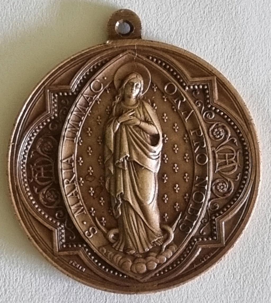 Aide pour identification pour cette médaille de L.PENIN 20210817