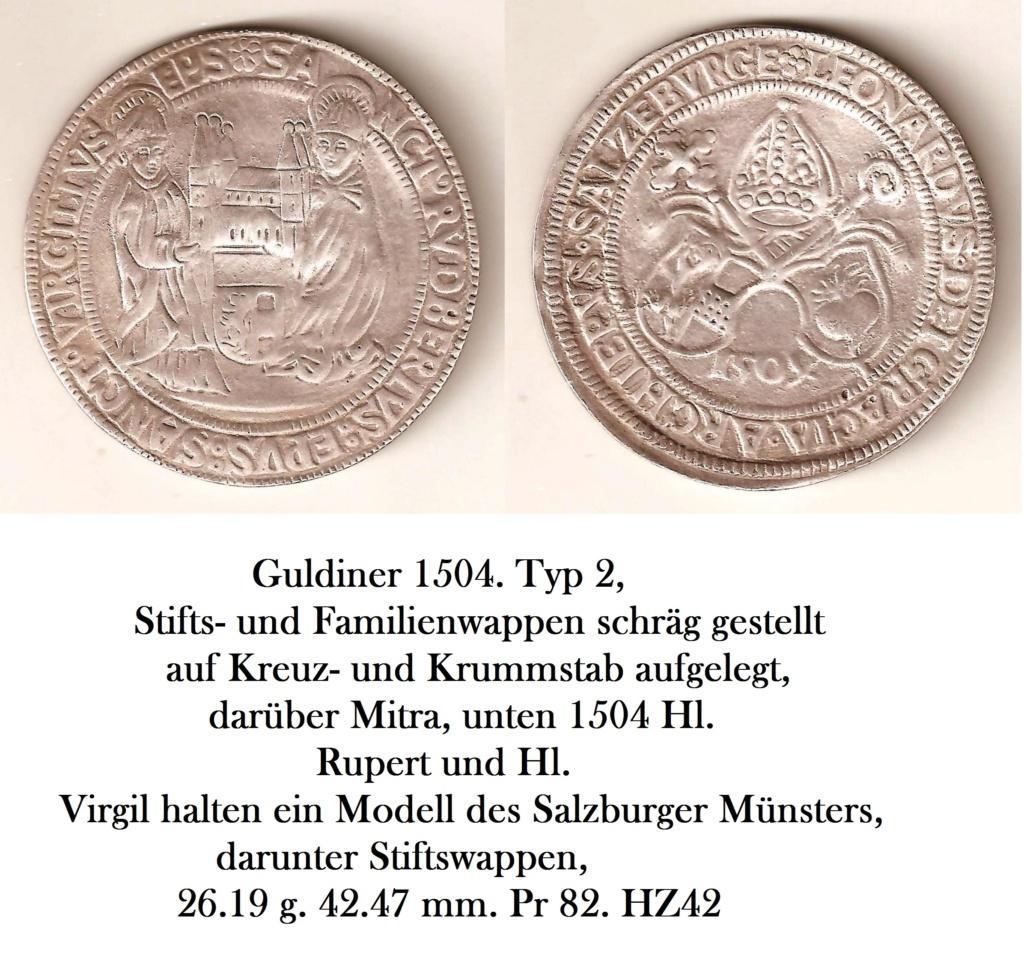 Der Guldiner von 1504 oder Rübentaler Auktio10