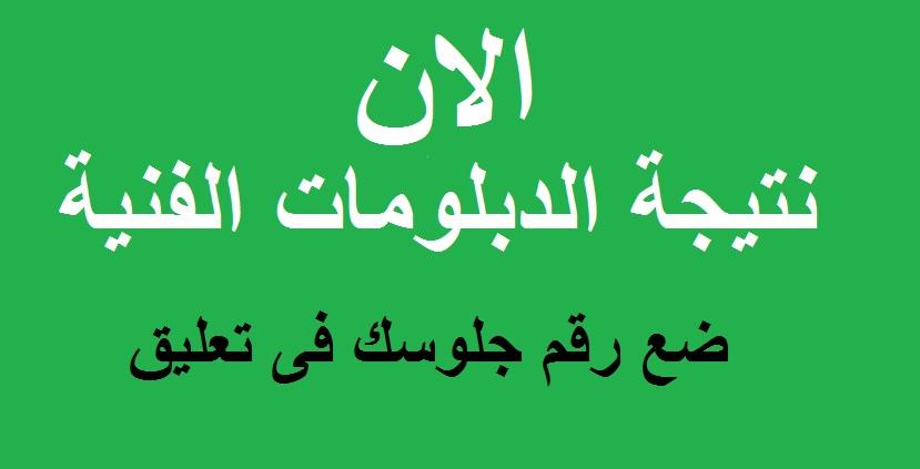 نتيجة دبلوم فنى 2021 - نتيجة الدبلومات الفنية لطلاب مصر 2021 الان 10010