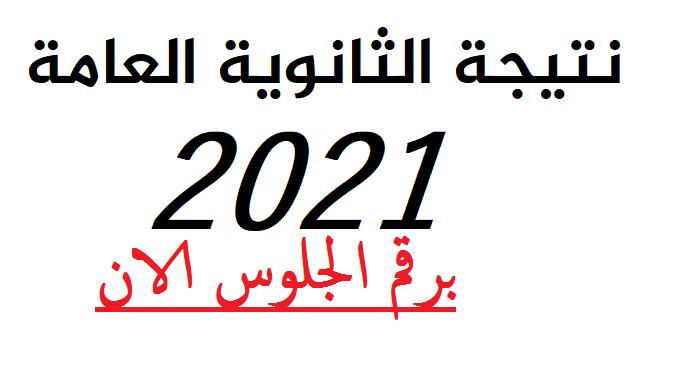 الان نتيجة الثانوية العامة 2021 برقم الجلوس Aco_ao13