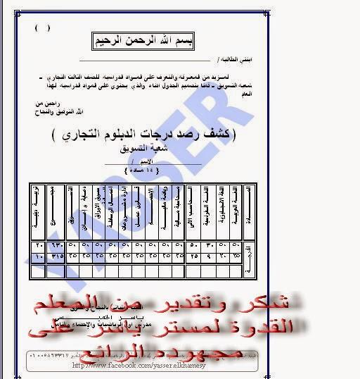 توزيع درجات الدبلوم التجاري 2021 - درجة النجاح فى الدبلومات الفنية 2021 Oo_oia10