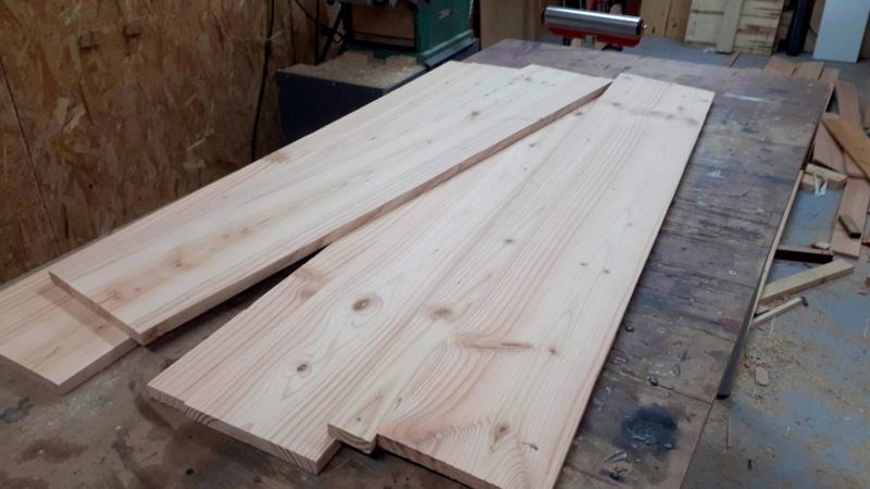 Construction d'un atelier en ossature bois ! - Le Bardage ! - Page 12 1010