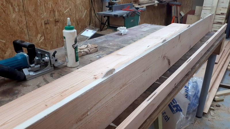 Construction d'un atelier en ossature bois ! - Le Bardage ! - Page 12 111
