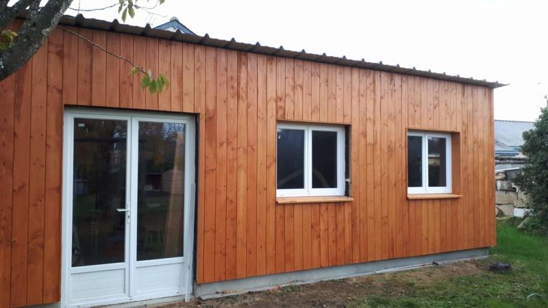 Construction d'un atelier en ossature bois ! - Le Bardage ! - Page 12 311
