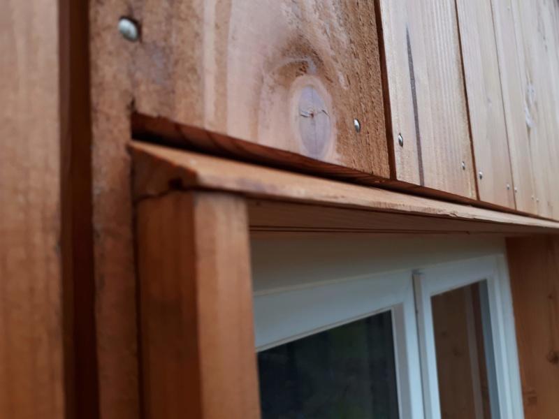 Construction d'un atelier en ossature bois ! - Le Bardage ! - Page 12 711