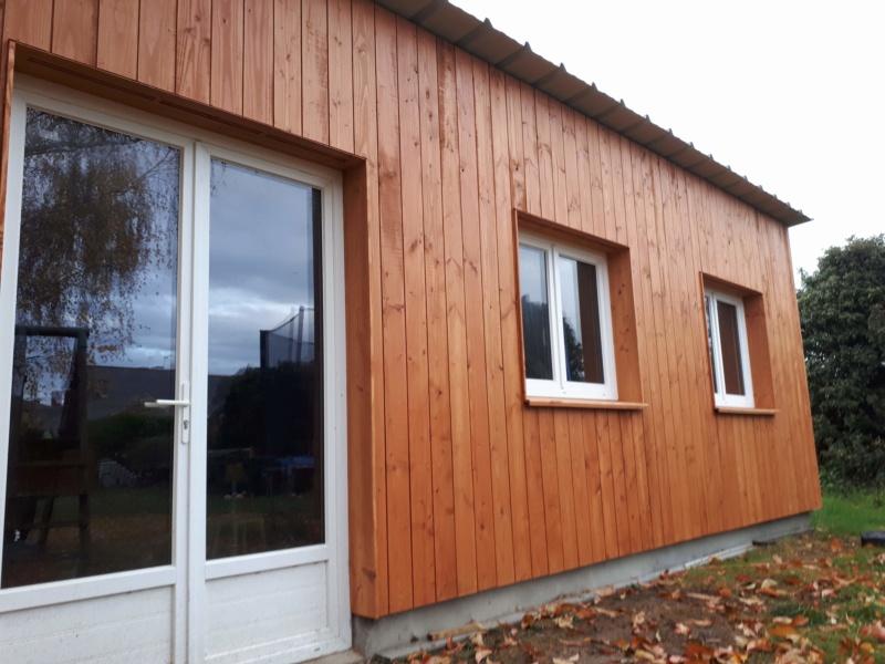 Construction d'un atelier en ossature bois ! - Le Bardage ! - Page 12 811