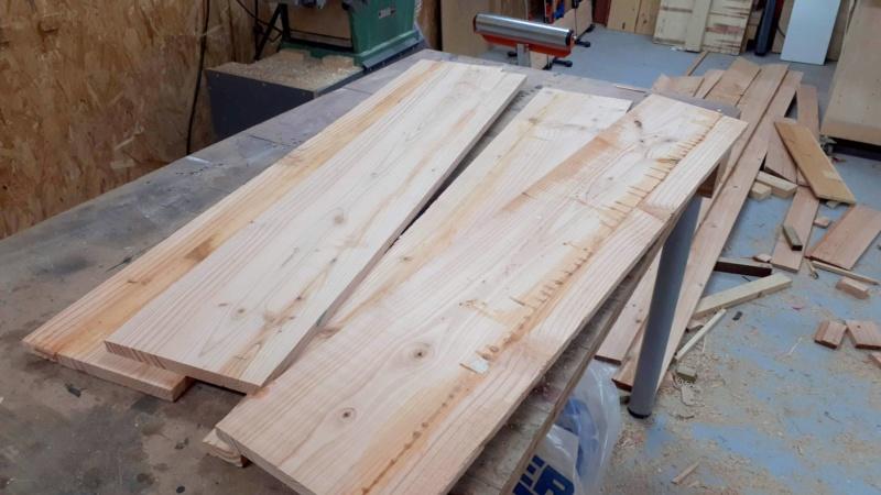 Construction d'un atelier en ossature bois ! - Le Bardage ! - Page 12 910