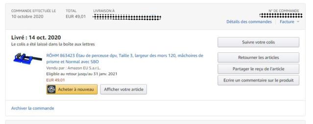 Achat Amazon: surveillance des prix Keepa.com Captur14