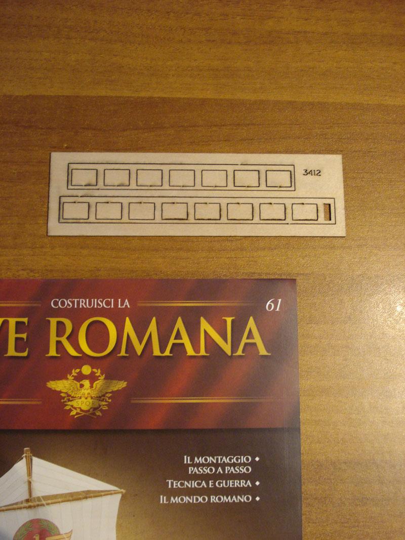 costruzione - Nave Romana Hachette - Diario di Costruzione Capitan Mattevale - Pagina 8 Foto-311