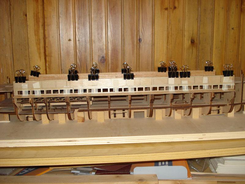 nave - Nave Romana Hachette - Diario di Costruzione Capitan Mattevale - Pagina 9 Foto-317