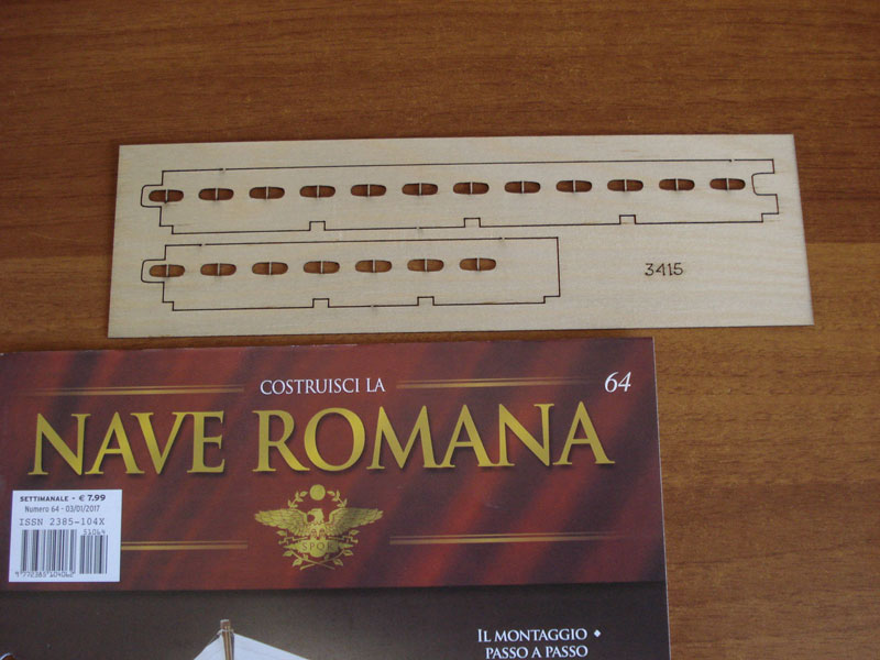 nave - Nave Romana Hachette - Diario di Costruzione Capitan Mattevale - Pagina 9 Foto-318