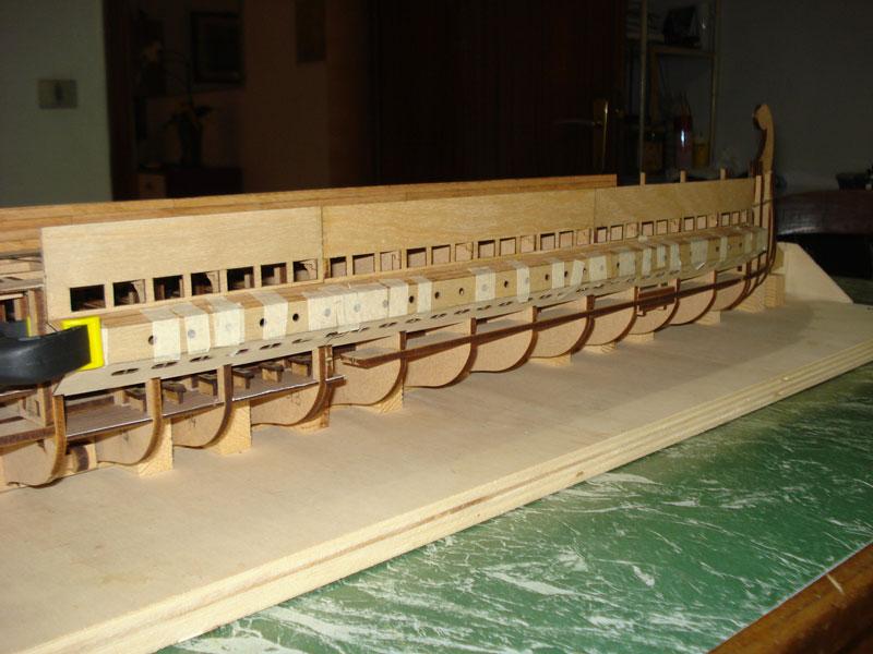nave - Nave Romana Hachette - Diario di Costruzione Capitan Mattevale - Pagina 9 Foto-331