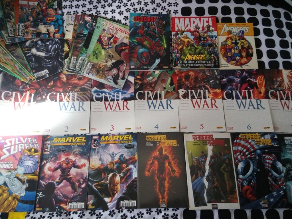 Des Tonnes de Comics à Vendre! Comics10