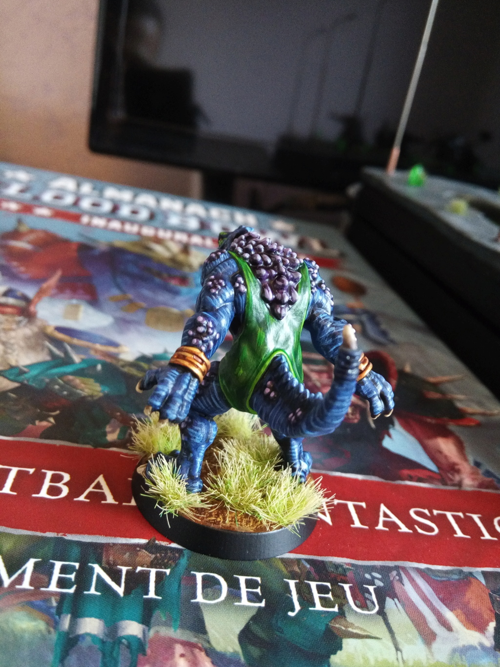 the Snakes of Zadamundra / LizardMen BloodBowl Team Project Img_2081