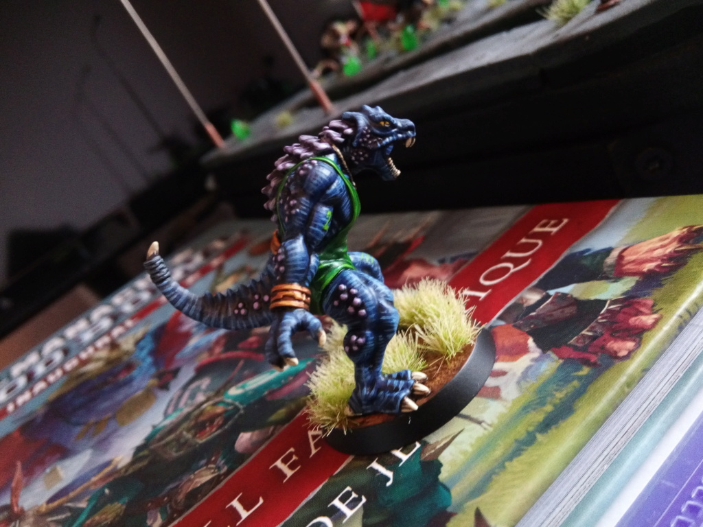 the Snakes of Zadamundra / LizardMen BloodBowl Team Project Img_2082
