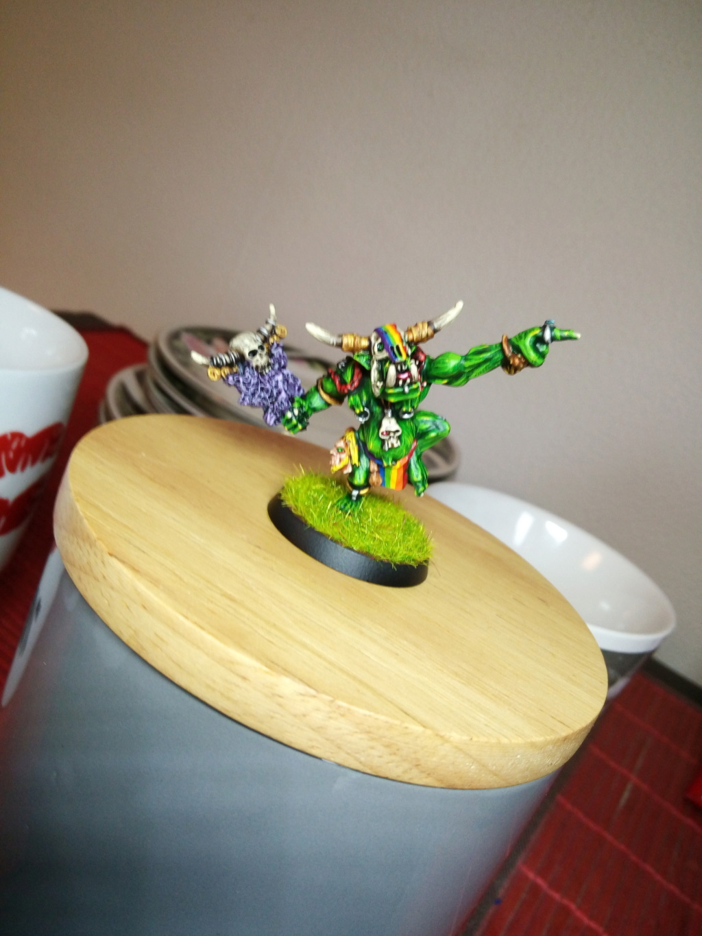 Rainbow Warriorks / Ork BloodBowl Team Project - Page 4 Img_2090