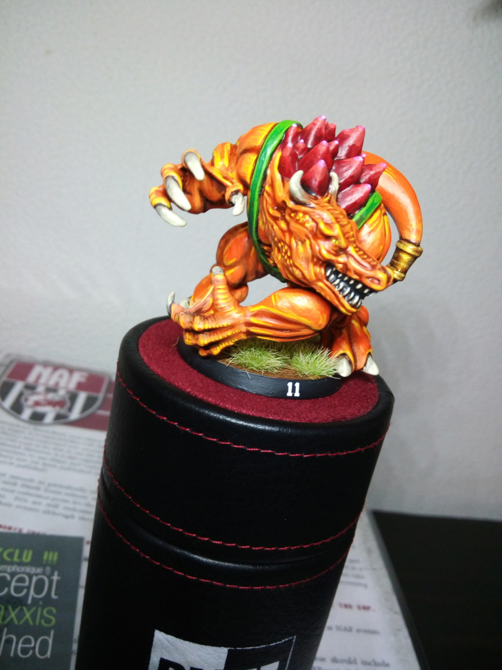 the Snakes of Zadamundra / LizardMen BloodBowl Team Project Img_2099