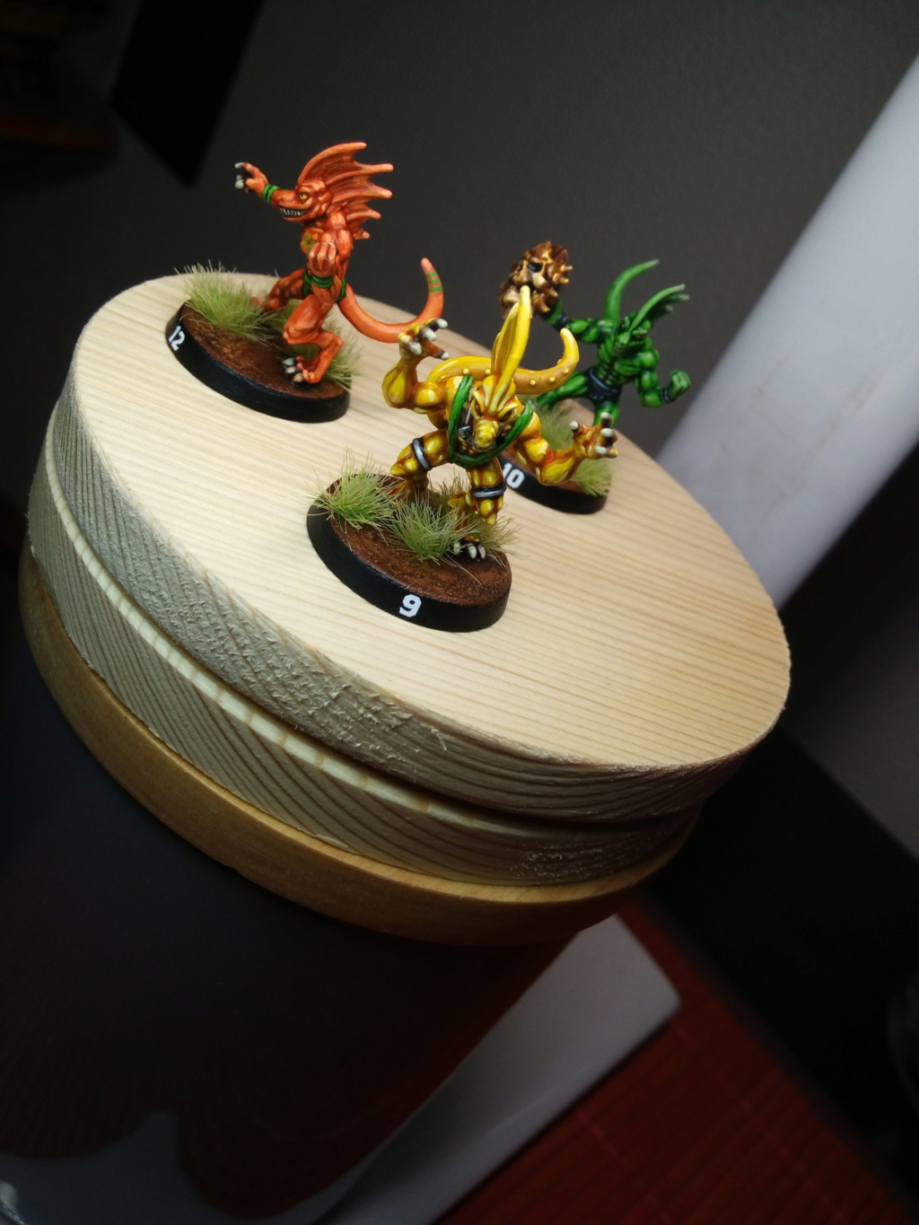 the Snakes of Zadamundra / LizardMen BloodBowl Team Project Img_2201