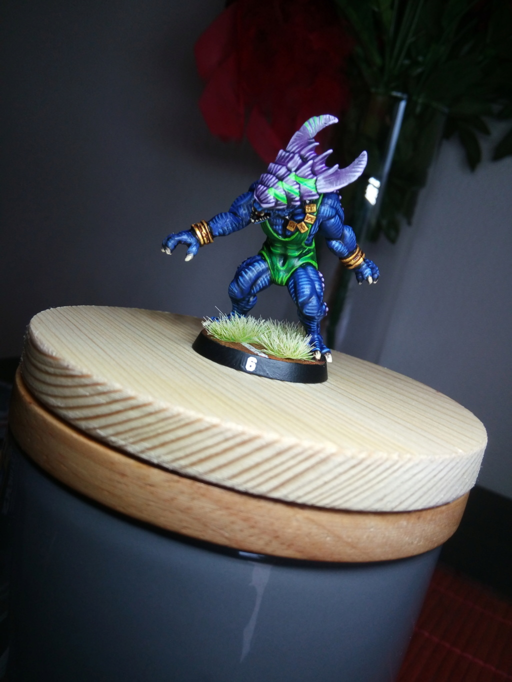 the Snakes of Zadamundra / LizardMen BloodBowl Team Project Img_2208