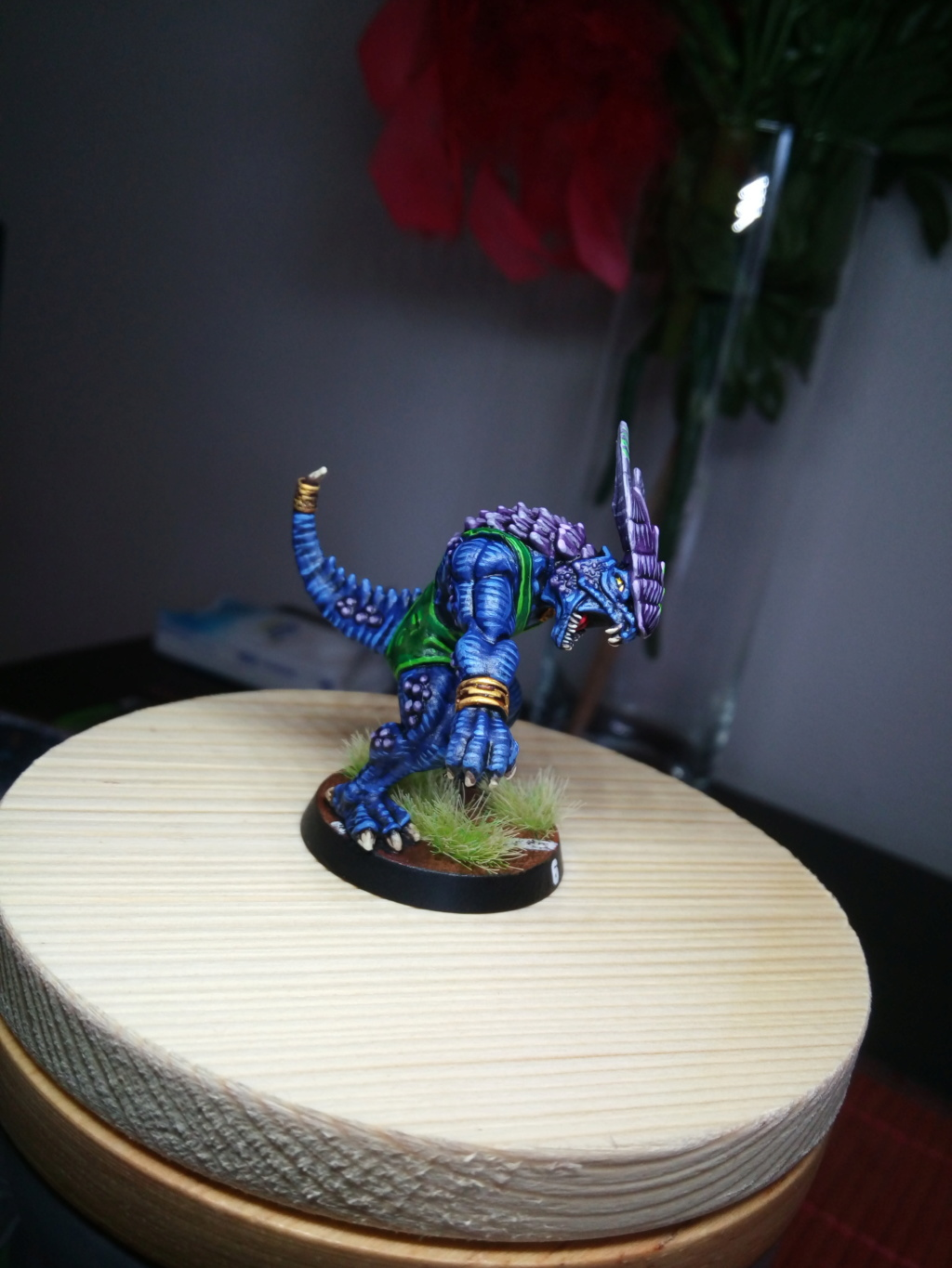 the Snakes of Zadamundra / LizardMen BloodBowl Team Project Img_2209