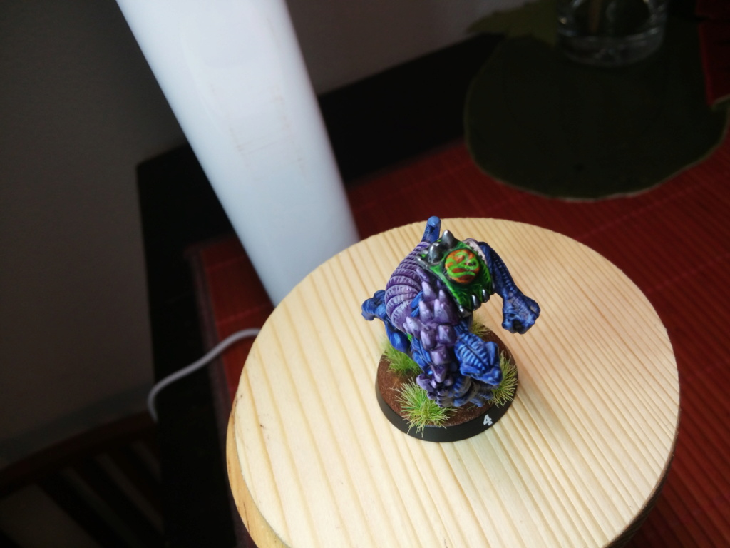 the Snakes of Zadamundra / LizardMen BloodBowl Team Project Img_2216