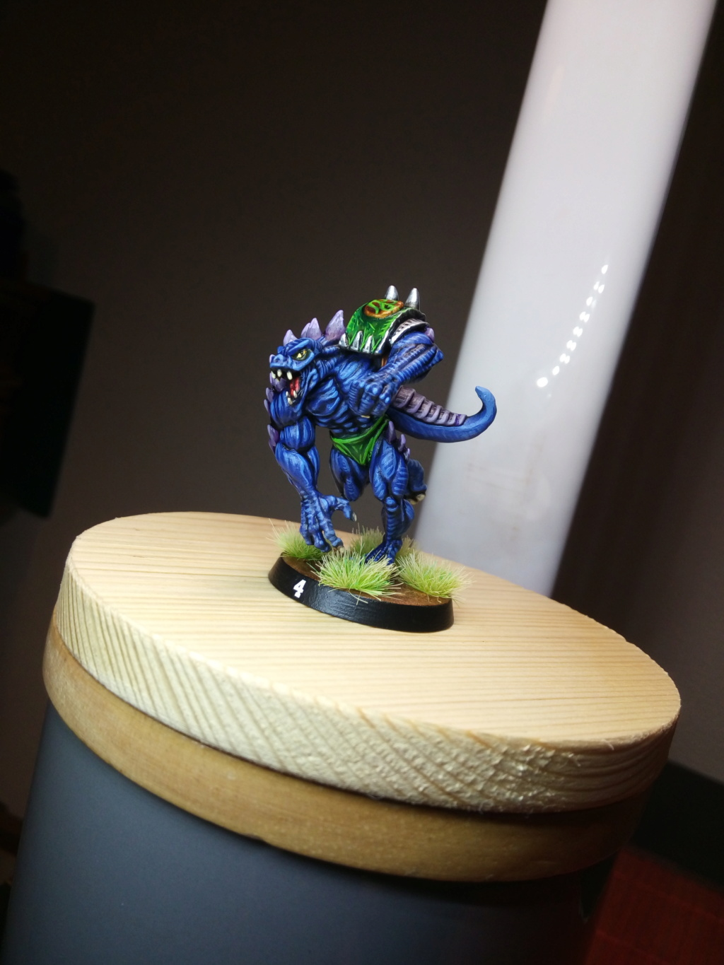 the Snakes of Zadamundra / LizardMen BloodBowl Team Project Img_2218